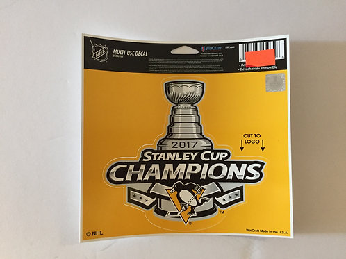 Pittsburgh Penguins SCC 2017, Multi Use Decal