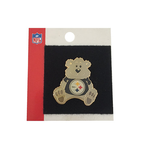 Pittsburgh Steelers Bear Pin