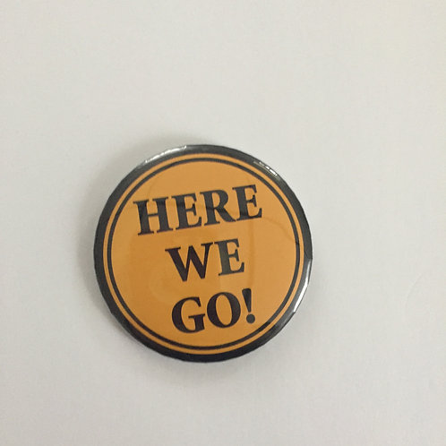 Pittsburgh Steelers 'Here We Go!' Steelers Pin