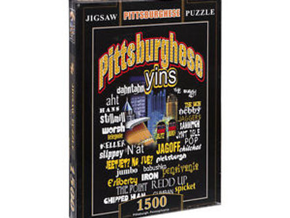 Pittsburghese Jigsaw Puzzle