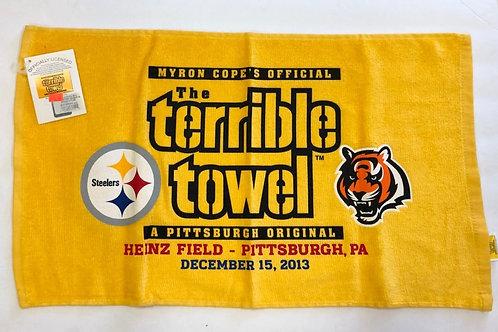 Pittsburgh Steelers Cincinnati Bengals Terrible Towel