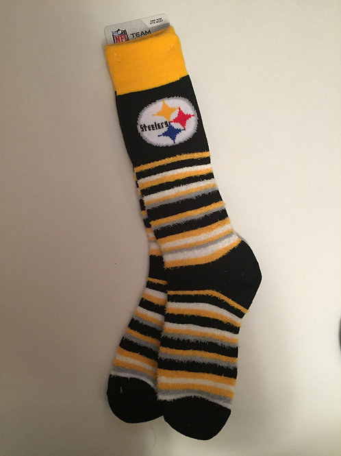 Pittsburgh Steelers Fuzzy Socks