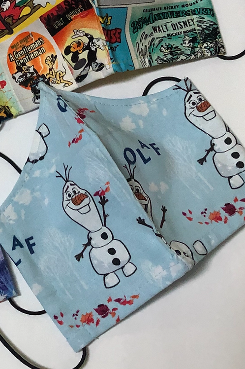 OLAF Disney Face Masks   Better Fit For Better Protection  Made In The USA!!