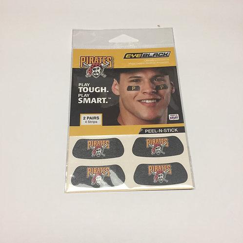 Pittsburgh Pirates Eye Black Face Stickers