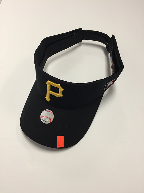 Pittsburgh Pirates 'P' Emblem Visor Hat