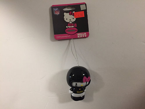 Pittsburgh Steelers Hello Kitty Ornament