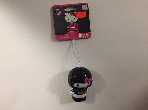 Pittsburgh Steelers Hello Kitty Ornament