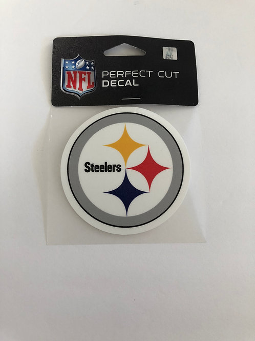 "Pittsburgh Steelers 4""x4"" Perfect Cut Emblem Decal"