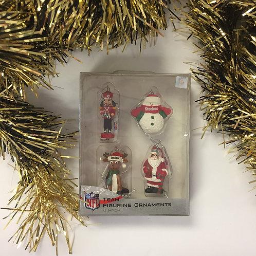 NFL Team Figurine Ornaments