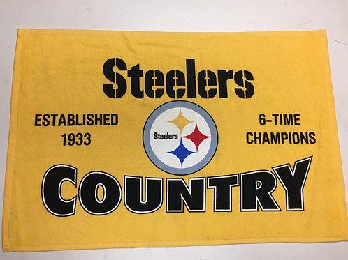 Steelers Country 6X  - Terrible Towel