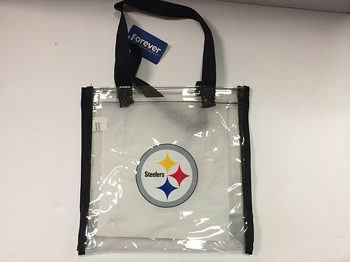 Pittsburgh Steelers Clear Square Stadium Tote