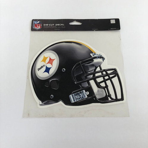 "Pittsburgh Steelers 8""x8"" Helmet Die Cut Decal"