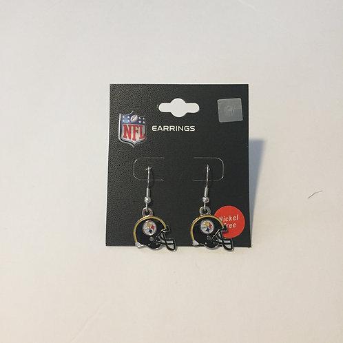 Pittsburgh Steelers Helmet Earrings