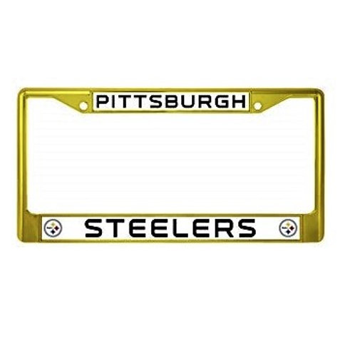 Pittsburgh Steelers Auto Tag-  License Plate Frame