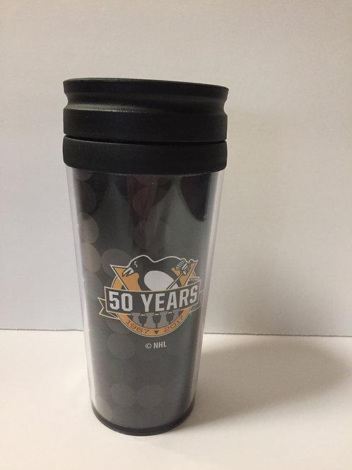 50 Years Pittsburgh Penguins Coffee Travel Mug