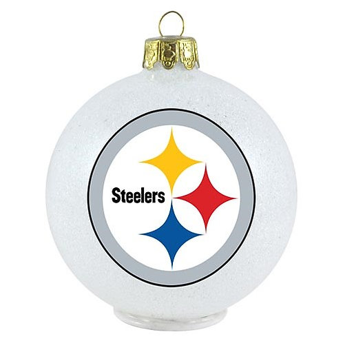 Pittsburgh Steelers LED light up ornament.