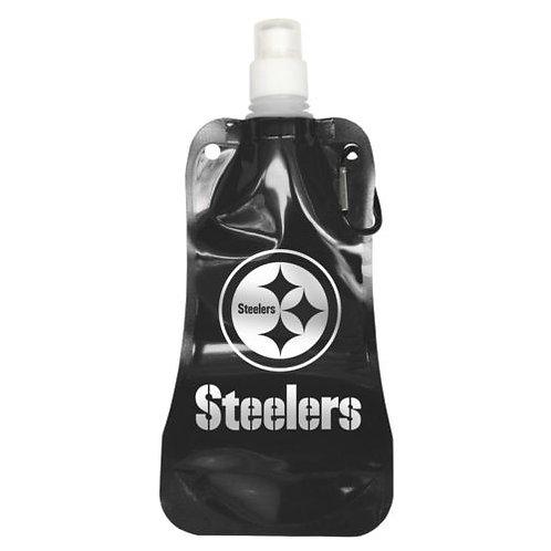 NFL Steelers Foldable Water Bottle