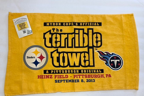 Pittsburgh Steelers Tennessee Titans Terrible Towel