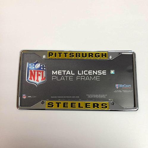 Pittsburgh Steelers, Metal License Plate Frame