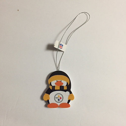 Pittsburgh Steelers Penguin Ornament