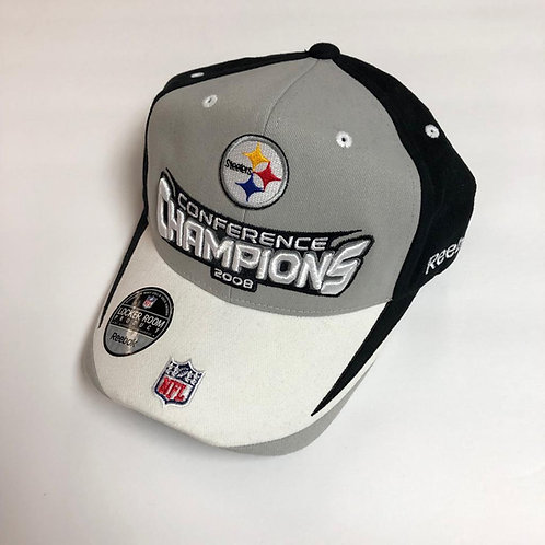 Pittsburgh Steelers 2008 Conference Champions Hat