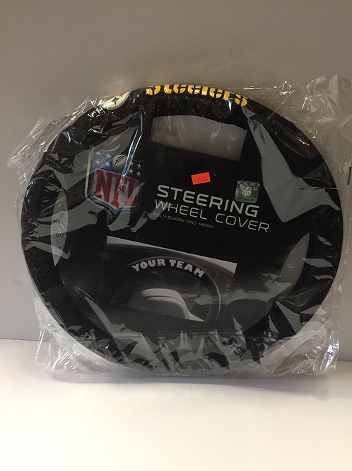 Pittsburgh Steelers Steering Wheel Cover