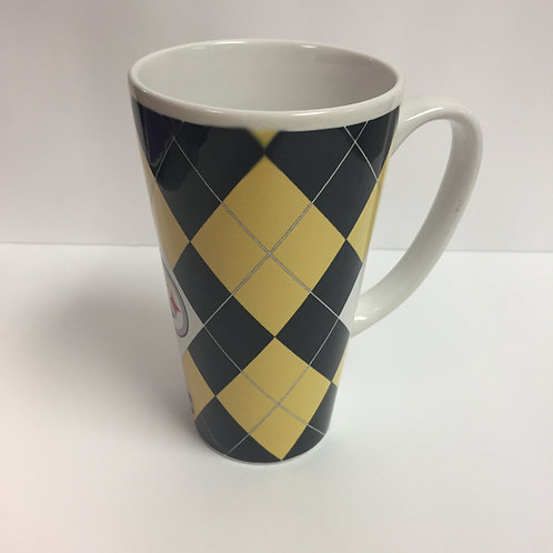 Pittsburgh Steelers Diamond Design Latte Mug