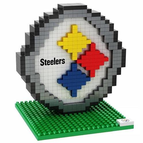 Pittsburgh Steelers Emblem Brxlz Puzzle Set
