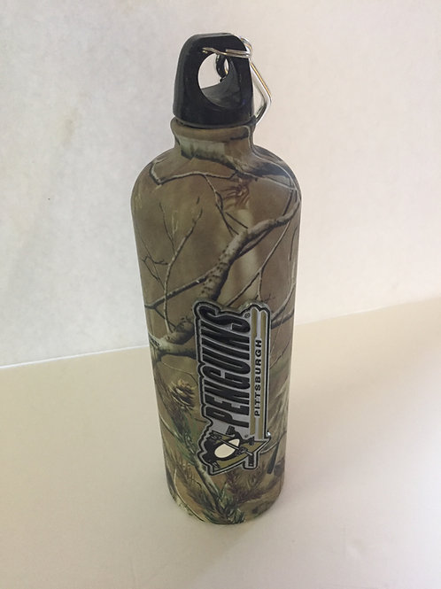 Pittsburgh Penguins Camo Travel Bottle