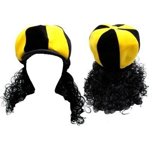Pittsburgh Steelers #43 Polamalu Hat & Wig