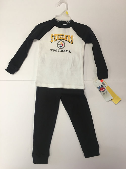 Pittsburgh Steelers,Toddler Pants & Shirt Outfit