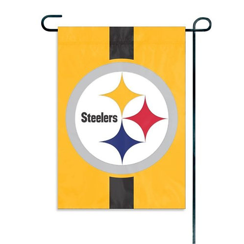 Pittsburgh Steelers Garden Window Flag
