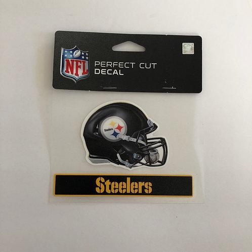 "Pittsburgh Steelers 4""x 5"" Perfect Cut Helmet Decal"