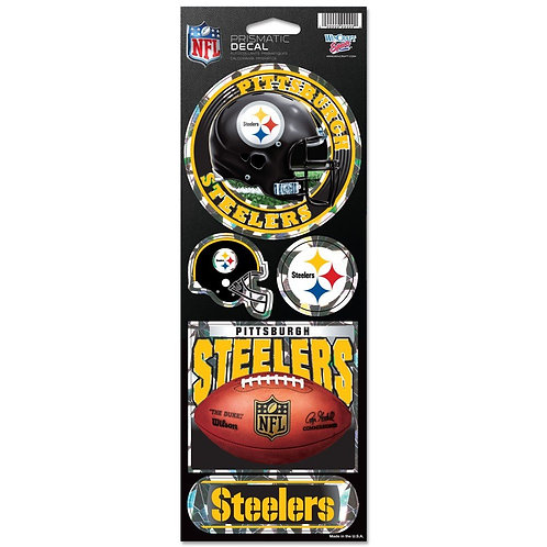 Pittsburgh Steelers Prismatic Decal