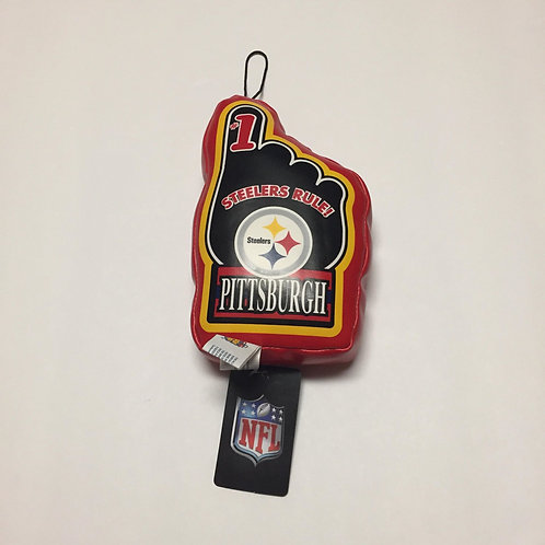 Pittsburgh Steelers #1 Plush Car Accessory