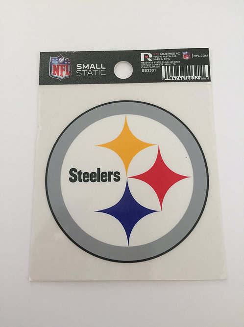 Pittsburgh Steelers Small Static Cling Decal