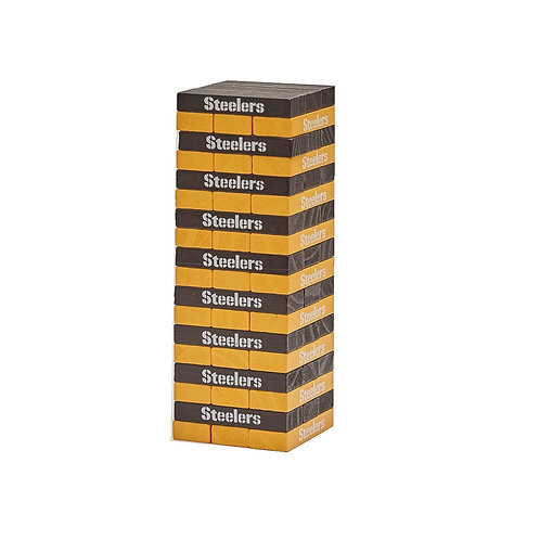 Pittsburgh Steelers Wooden Table Top Stackers
