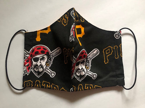 Pirates Face Masks (Individually Hand Made In The USA) Washable