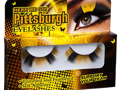 Pittsburgh Steelers Eyelashes