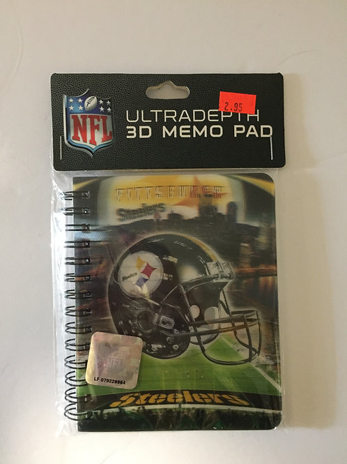 Pittsburgh Steelers Ultradepth 3D Memo Pad