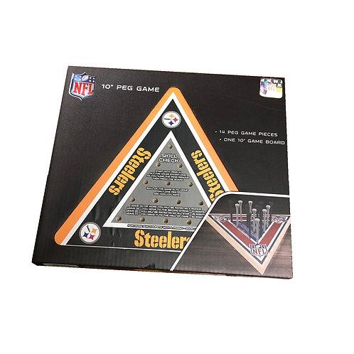 "Pittsburgh Steelers 10"" Peg Game"