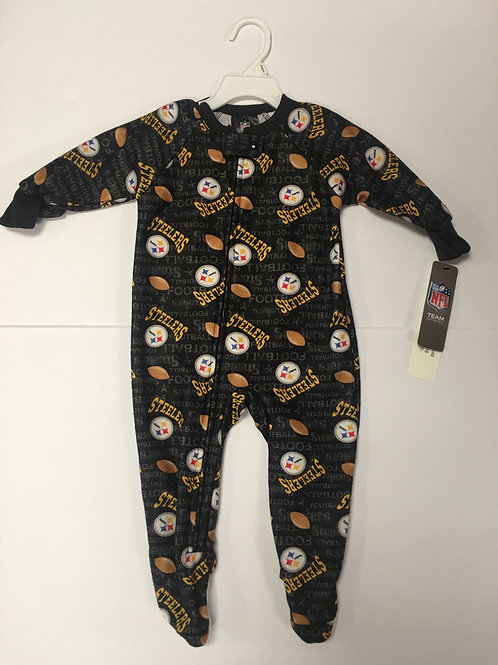 Pittsburgh Steelers,Toddler footed Pajamas