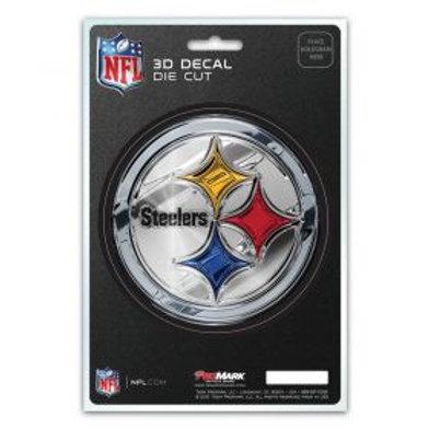 Pittsburgh Steelers 3D Die Cut Decal