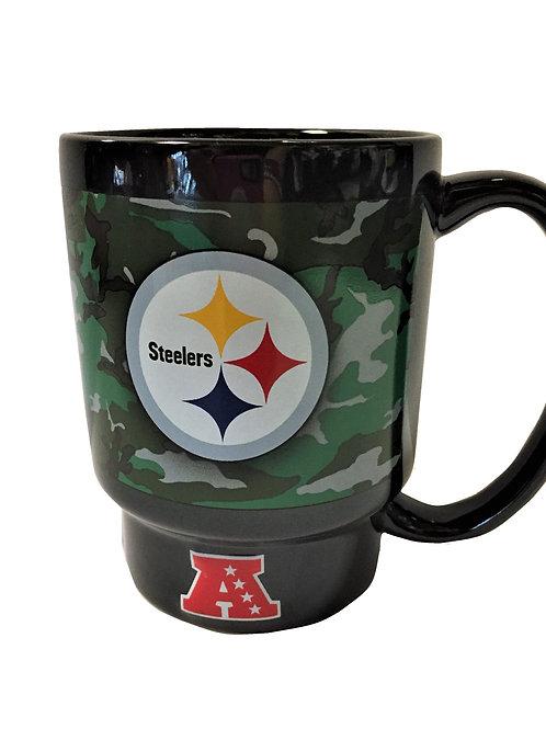 Pittsburgh Steelers NFL Football Camouflage Coffee Mug