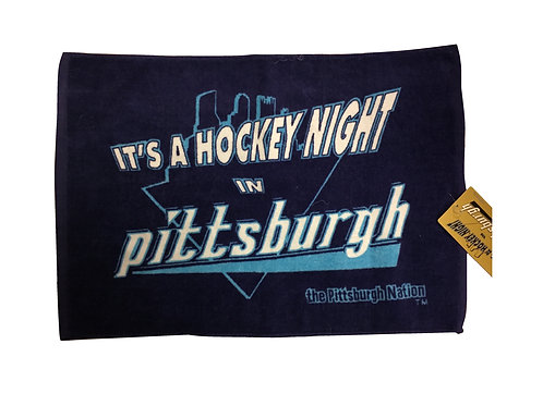 Its a Hockey Night in Pittsburgh - Penguins Towel