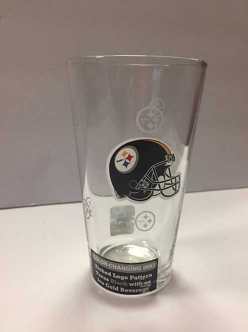 Pittsburgh Steelers, Color Changing 16oz Glass