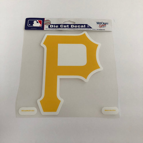Pittsburgh Pirates Die Cut Logo Decal