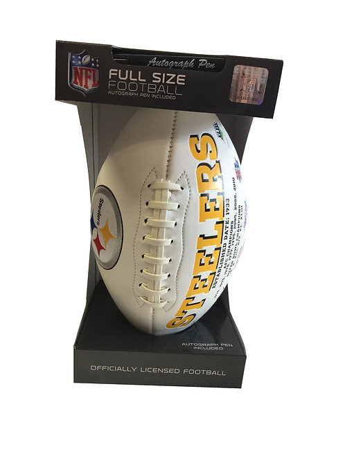 Steelers Football Full Size Embroidered Signature Series