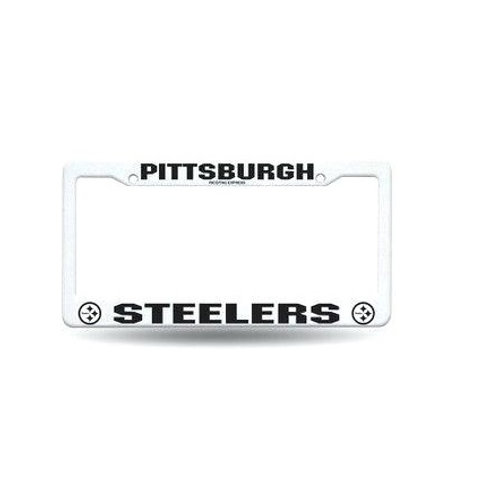 Pittsburgh Steelers Black and White -  License Plate Frame