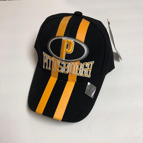 Pittsburgh Yellow Stripe Hat